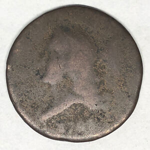 1793 Liberty Cap Half Cent C-2 Rotated Reverse No Reserve Auction You Want This