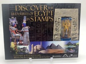 Египет Ägypten 2004 Discover the Treasures of Egypt in Stamps Stmaps Booklet