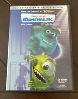 MONSTERS, Inc. (DVD, 2002, 2-Disc Set, Collectors Edition) DVDS IN PERFECT SHAPE