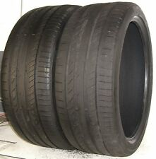 USED PAIR Continental Tires 275/35R21 ContiSportContact 5P Extra Load 103Y 27535