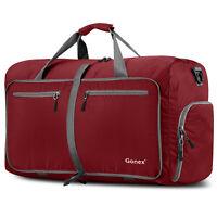 10 Colors Gonex 60L Foldable Travel Luggage Duffel Bag Water & Tear Resistant