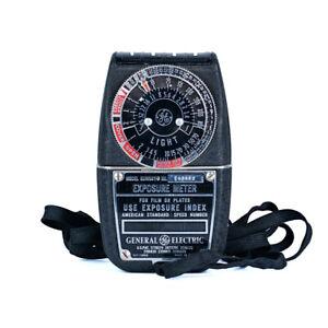 Model 8DW58Y41 Exposure Meter General Electric *Great Condition*