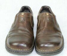 Merrell World Legend Dark Earth Leather Loafers Slip On Shoes Men's Sz 10 J4519