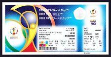 2002 World Cup SWEDEN v NIGERIA *Mint Condition UNUSED Ticket*