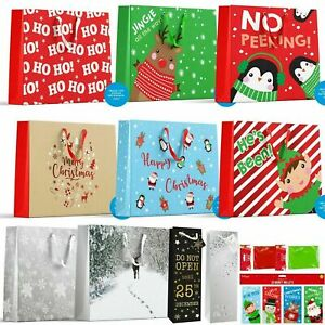 Luxury Christmas Gift Bags Party Cute Traditional Gift Bag Xmas