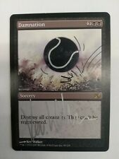 Damnation - Altered And Signed By Artist Kev Walker - Planar Chaos - MTG