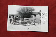 Pancho at Old Mission, San Miguel California Postcard - Real Photo Rppc