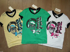 Diesel Boys' 100% Cotton Other T-Shirts & Tops (2-16 Years)