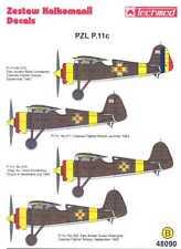 Techmod Decals 1/48 ROMANIAN PZL P-11c Fighter