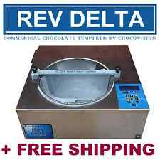 CHOCOVISION REV DELTA - CHOCOLATE TEMPERING MACHINE - NSF APPROVED TEMPERER
