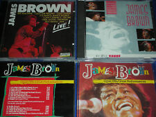 3 CD de JAMES BROWN jazz BEST blues LIVE greatest hits
