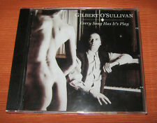 """Gilbert O'Sullivan CD """" EVERY SONG HAS IT'S PLAY """" PM"""