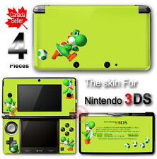 Yoshi 's New Island Lemon Edition Super Mario Skin Sticker for Original 3DS
