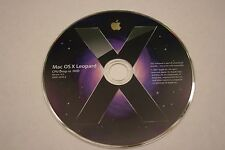Mac OS X Leopard Version 10.5 CPU Drop-in DVD..FREE SHIPPING