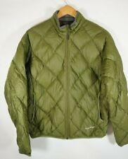 MONTBELL Mont Bell L Mens Lightweight Down Jacket Puffer Full Zip Packable Green
