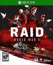 RAID: World War II - Xbox One VideoGames