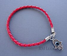One Red Lucky Bracelet Kabbalah Evil Eye Jewelry Charm Hamsa hand palm s179