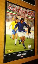 CALCIATORI 1989-90 -  FIGURINE PANINI - LA GAZZETTA DELLO SPORT