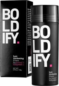 BOLDIFY Hair Fibers for Thickening 0.98oz 28g Auburn by Brand Hollywood New