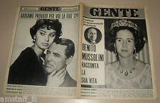 GENTE 1966/14=FABIOLA=SOPHIA LOREN=FIAT 124=ANDREINA PAGNANI=MINO CERETTI=