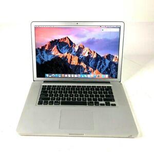 "Apple MacBook Pro 15"" A1286 2.4 GHz intel Core i7 8GB 1067 MHz DDR3 750GB 2010"