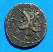 More details for roman silver denarius coin, in nice very fine grade. unknown emperor.