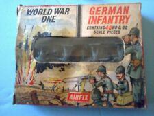 Vintage Airfix S26-50c WWI German Infantry 1:76 Scale (1961-63)