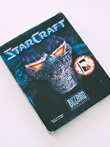 Starcraft 1 - PC Game - Blizzard 1997 Strategy Game - BIG BOX - Complete
