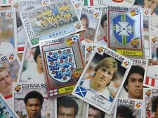 Panini Espana 82 Stickers (221-427) - Complete Your Collection