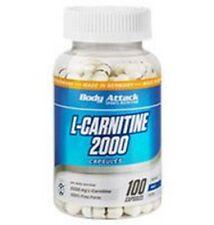 BODY ATTACK - L-CARNITINE 2000 100caps - CARNITINA