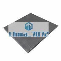 1x 4*100*100mm 99.99% Pure Graphite Electrode Rectangle Plate Sheet