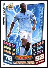 Yaya Toure Man. City #121 Topps Match Attax Football 2012-13 Trade Card (C440)