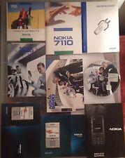 Lotto Manuali originali  NOKIA 6600-7110-6680-E61-5310 in Italiano