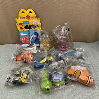 Mcdonalds Happy Meal Finding Nemo Toys (2004) Set of 8 (Sealed )