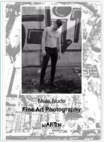 Male Nude Fine Art Photograpy - Picture Book Album