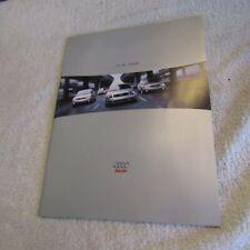 Audi 2000 50 Page Car Sales Brochure Nos