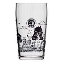Carlsberg  Personalised LONDON FIELDS BREWERY Pint Glass Birthday NEW FOR 2018