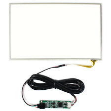 """8.9"""" Resistive Touch Screen For 8.9inch 1024x600 LCD Panel USB Controller Card"""