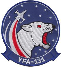 Strike Fighter Escadron 131 VFA-131 États-Unis Bleu Marine USN patch brodé