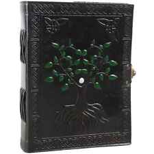 Tree of Life Leather Bound Journal Handmade Blank Notebook Sketchbook 6 X 8