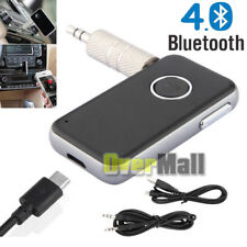 A2DP Bluetooth4.0 Receiver Wireless Home Audio Music Adapter 3.5mm Car Kits