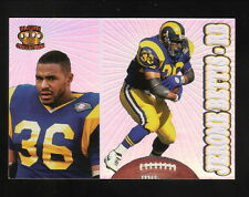 Jerome Bettis--1995 Pacific Prism Football Card--St Louis Rams