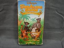 Disney Sing Along Songs VHS Video Tape Rare Vol. 4 Bare Necessities