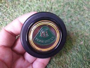 Rare vintage momo team lotus horn button