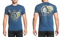 Xtreme Couture Men's Tomahawk Choppers Tee Shirt Navy