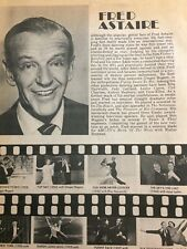 Fred Astaire, Full Page Vintage Clipping
