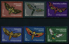 Bulgaria 2267-72 MNH Insects, Moths
