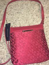 e9715de4825 Tommy Hilfiger Womens Crossbody Purse Shoulder Bag Pockets Xbody Medium Zip