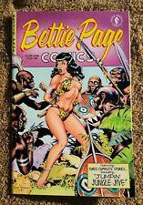 BETTIE PAGE COMICS #1 Dave Stevens Bondage Cover Dark Horse 1996 VF/NM