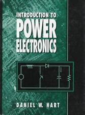 Introduction to Power Electronics, Daniel W. Hart, Good Book
